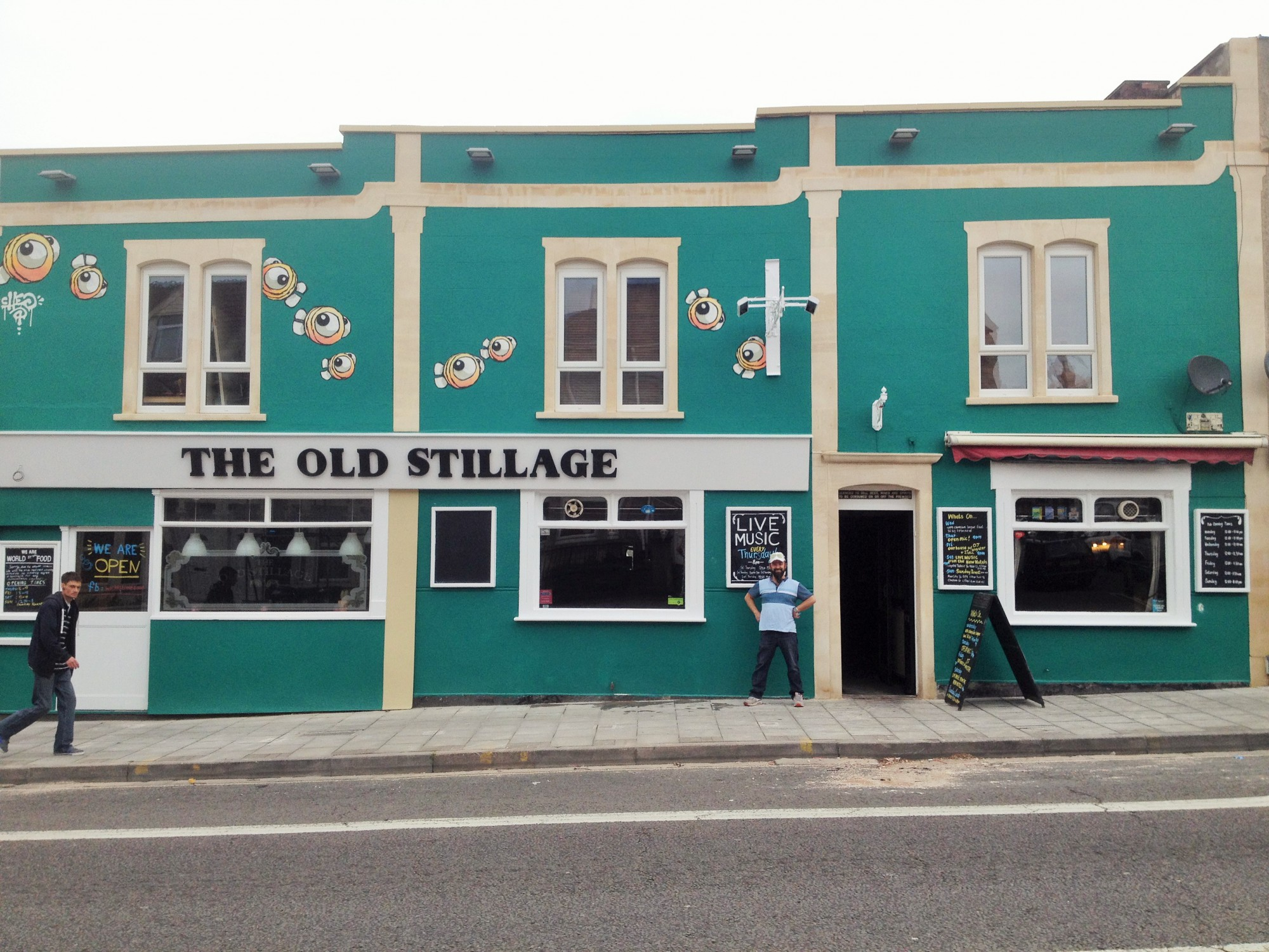 The front of the Old Stillage pub in Church Road, Bristol